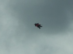 a weak photo of a bali kite...
