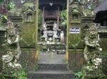 a classic bali temple.
